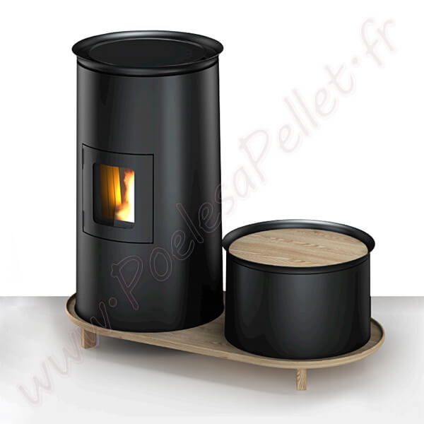 bistrot cadel po le pellet. Black Bedroom Furniture Sets. Home Design Ideas